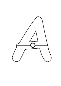 Pokeball Theme Letters