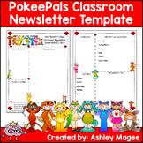 PokeePals Editable Classroom Newsletter