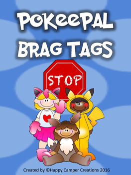Pokeepal Brag Tags