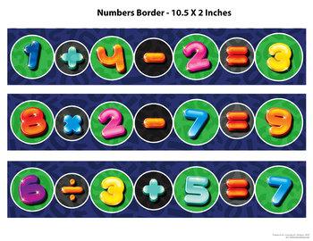 Pokemon Bulletin Board Borders (9 different borders)
