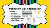 Pokemath Go! Addition Kit