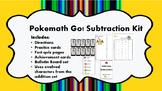 Pokemath Go! Subtraction Kit