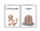 Pokemon alphabet posters/cards