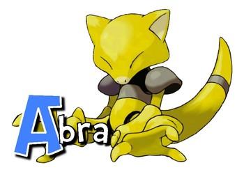 Pokemon Alphabet Cards-A4