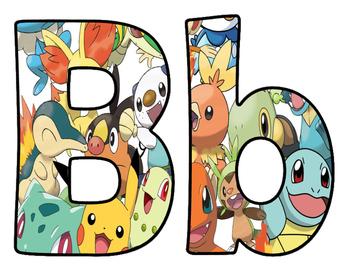 Pokemon BB Letters