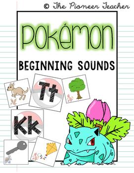 Pokemon {Beginning Sounds Sort}