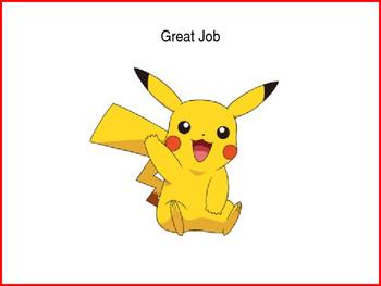Pokemon Behaviour Chart - editable