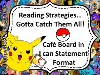 Pokemon Cafe Board