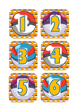 Pokemon Calendar & More! ***FRENCH VERSION***