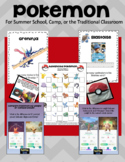 Pokémon Math Games, Crafts, and Activities for Camp or the