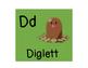 Pokemon Character Alphabet