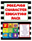 Pokemon Character Education Pack
