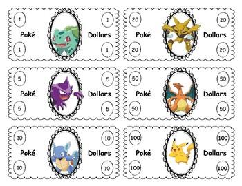 Pokemon Classroom Economy Pack