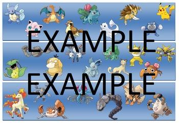 Pokemon Classroom Pinboard Borders