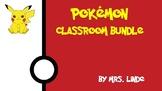 Pokemon Themed Classroom Bundle
