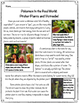 Pokémon Close Read and Worksheets/Activities: Pitcher Plants and Victreebel