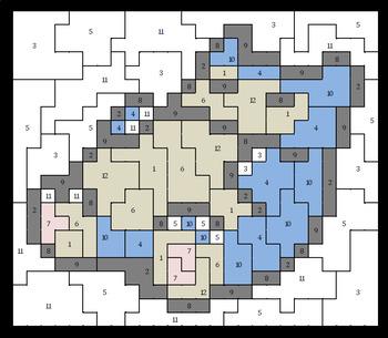 Pokemon Color-by-Number: 3rd Declension i-stem Nouns