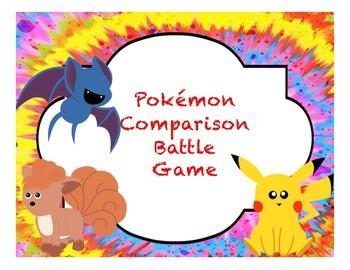 Pokemon Comparison Battle Game