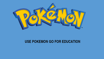 A Pokemon Creative Lesson Plan