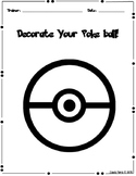 Pokemon - Decorate your Poke Ball!