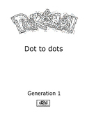 Pokemon Dot to dots - Complete Generation 1 (151 Pokemon)
