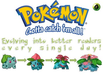 Pokemon Evolution signs for reading