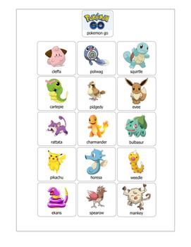 Pokemon File Folder