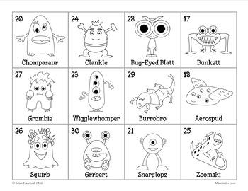 Pokemon GO Inspired Monster Catching Math for Second Grade