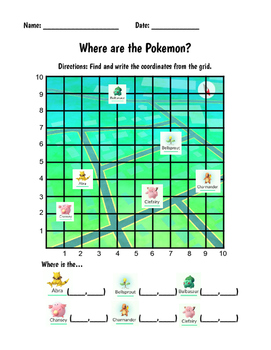 Pokemon GO Work on Math!