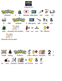Pokemon GO - picture supported text lesson with questions