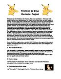 Pokémon Go 3rd through 5th Grade Cross Curricular Project
