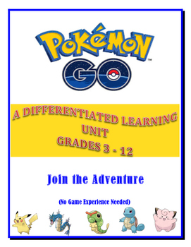 Pokémon Go - A Differentiated Learning Unit