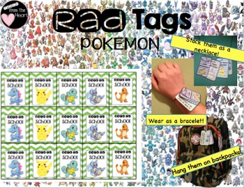 Pokemon Go Brag Tags FREEBIE
