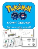 Pokemon Go Cipher, Riddle, and Coding Challenge