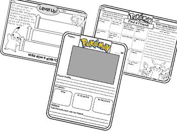 Pokemon Go Classroom Bulletin Board Printables Plus Group Motivator