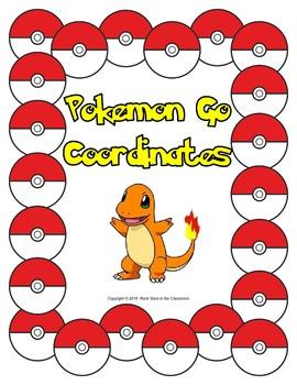 Coordinate Plane Pokemon Worksheets & Teaching Resources | TpT