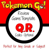 Pokemon Go - Game Template with optional QR Codes