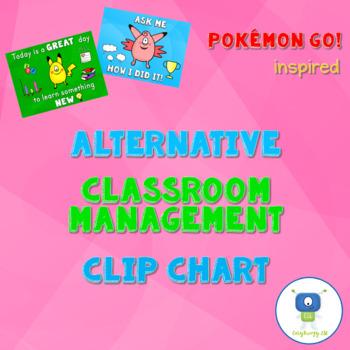 Pokémon Go! Inspired Alternative Classroom Management Clip Chart