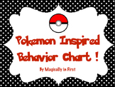 Pokemon Go Inspired Behavior Chart