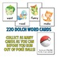 Pokemon Go Inspired Dolch Sight Words Game - Contains all 220 Dolch Words!