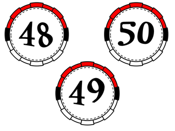 Pokemon Go ~ Inspired Numbers 0-125 {Style 2}