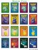 Pokemon Go Kindergarten Sight Word Bingo Game (36 unique game boards)
