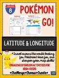 Pokemon Go Latitude and Longitude Activity