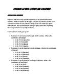 Pokemon Go! Latitude and Longitude Edition Worksheet #2