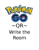 Pokemon Go! QR Write the Room Wonders 1st Grade Unit 3 Week 4 Spellling Words