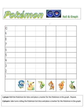Pokémon Go! Roll and Chart