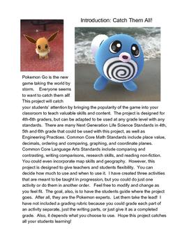 Pokemon Go STEAM Project