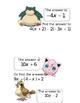 Pokemon Go! Scavenger Hunt Combing Like Terms