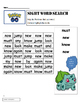 Pokémon Go ! Sight Word Search  Dolch Primer