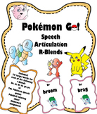 Pokemon Go Speech Articulation R-Blends